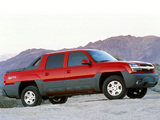Pictures of Chevrolet Avalanche Z66 2002–06