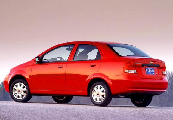 Chevrolet Aveo Sedan T200 200306 Images