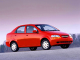 Chevrolet Aveo Sedan (T200) 2003–06 images