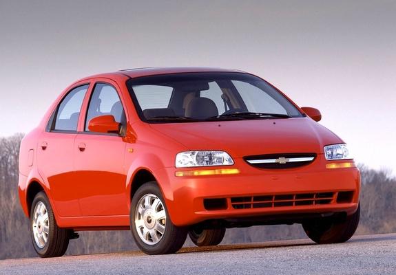 Chevrolet Aveo Sedan T200 200306 Photos
