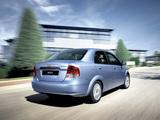 Chevrolet Aveo Sedan (T200) 2003–06 pictures