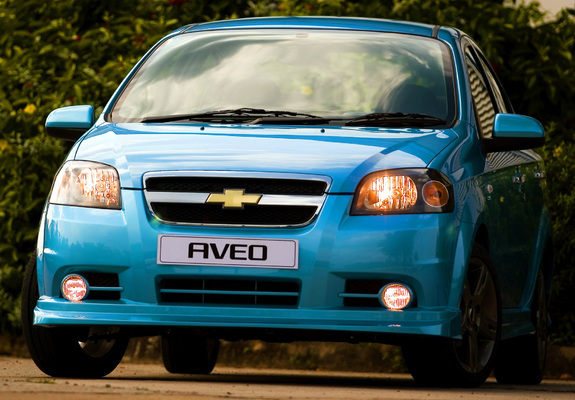 Chevrolet Aveo Sport Ss T250 2008 Images