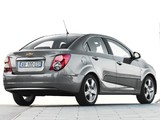 Chevrolet Aveo Sedan 2011 wallpapers