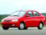 Images of Chevrolet Aveo Sedan (T200) 2003–06