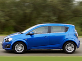 Images of Chevrolet Aveo 5-door UK-spec 2011