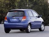 Photos of Chevrolet Aveo 5-door (T200) 2003–08