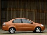 Photos of Chevrolet Aveo Sedan (T250) 2006