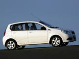 Photos of Chevrolet Aveo 5-door (T250) 2008–11
