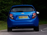 Photos of Chevrolet Aveo 5-door UK-spec 2011