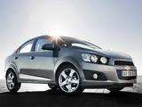 Photos of Chevrolet Aveo Sedan 2011