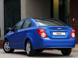 Photos of Chevrolet Sonic Sedan ZA-spec 2012