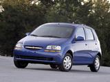Pictures of Chevrolet Aveo 5-door (T200) 2003–08