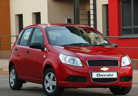 Pictures Of Chevrolet Aveo 5 Door Za Spec T250 2008