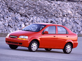 Chevrolet Aveo Sedan (T200) 2003–06 wallpapers