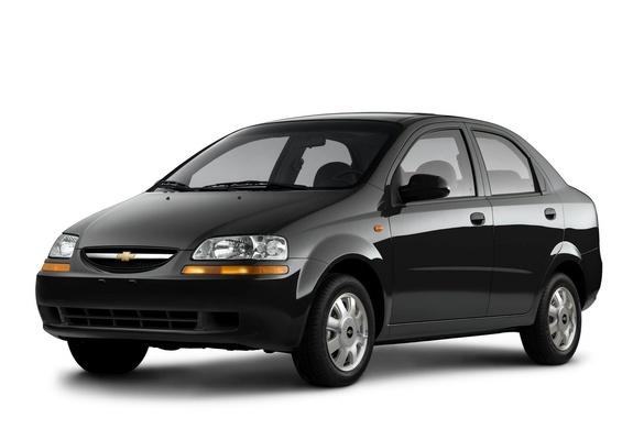 Chevrolet Aveo Sedan T200 200306 Wallpapers