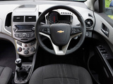 Chevrolet Aveo 5-door UK-spec 2011 wallpapers