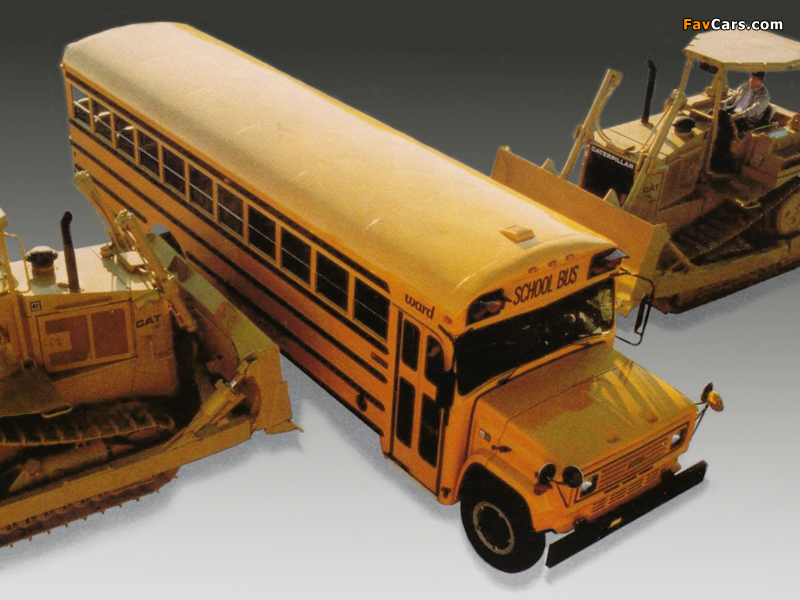 Chevrolet B60 School Bus by Ward 1989 images (800 x 600)