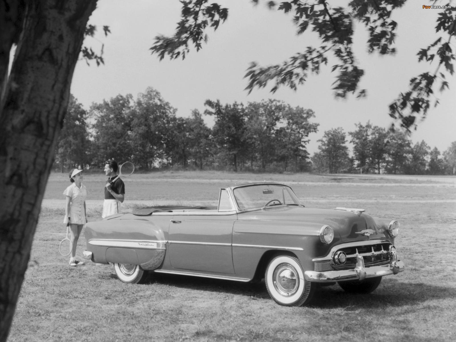 Chevrolet Bel Air Convertible 2434 1067d 1953 Photos