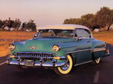 Chevrolet Bel Air Sport Coupe (2454-1037D) 1954 photos