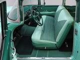 Chevrolet Bel Air 2-door Sedan (2402-1011D) 1956 pictures