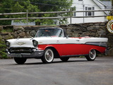 Chevrolet Bel Air Convertible Fuel Injection (2434-1067D) 1957 pictures