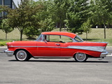 Chevrolet Bel Air Sport Coupe (2454-1037D) 1957 pictures