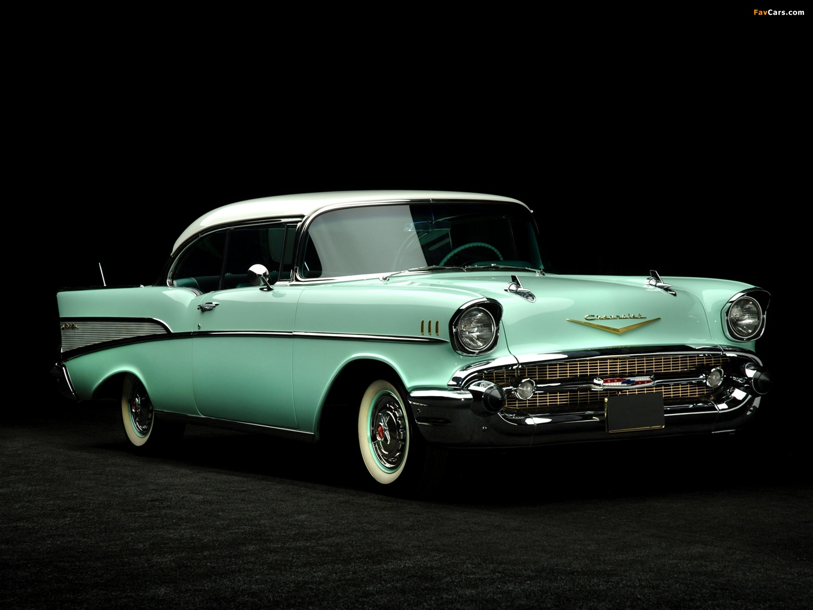 Chevrolet Bel Air Sport Coupe 2454 1037d 1957 Wallpapers