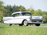 Images of Chevrolet Bel Air Sport Coupe (2454-1037D) 1957