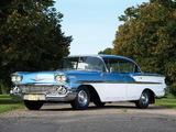 Images of Chevrolet Bel Air Sport Sedan 1958