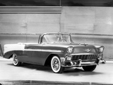 Pictures of Chevrolet Bel Air Convertible (2434-1067D) 1956