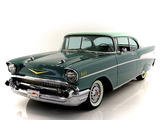 Pictures of Chevrolet Bel Air Sport Coupe (2454-1037D) 1957
