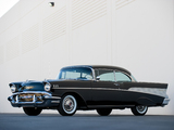 Chevrolet Bel Air Sport Coupe (2454-1037D) 1957 wallpapers