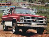 Chevrolet Blazer 1981–82 photos