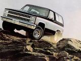 Chevrolet Blazer 1981–82 pictures