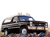 Photos of Chevrolet Blazer 1983–84