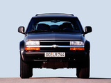 Pictures of Chevrolet Blazer ZR2 EU-spec 1997–2005