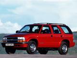 Chevrolet Blazer UK-spec 1997–2005 wallpapers
