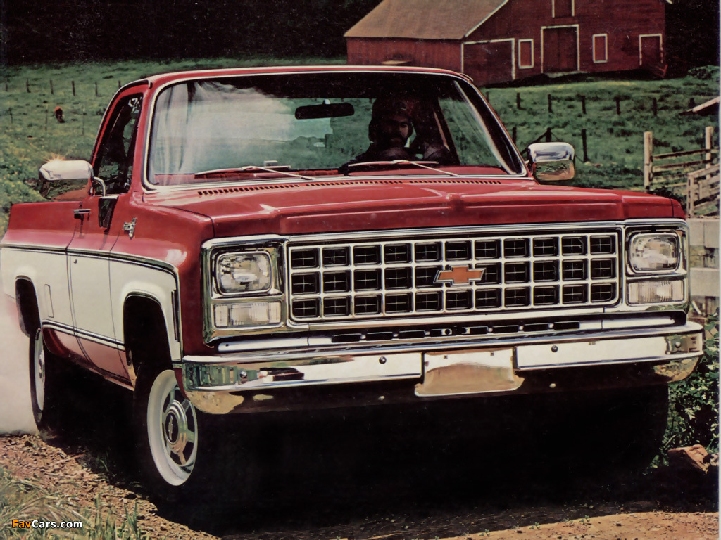 Gmc K Long Bed Pick Up Truck