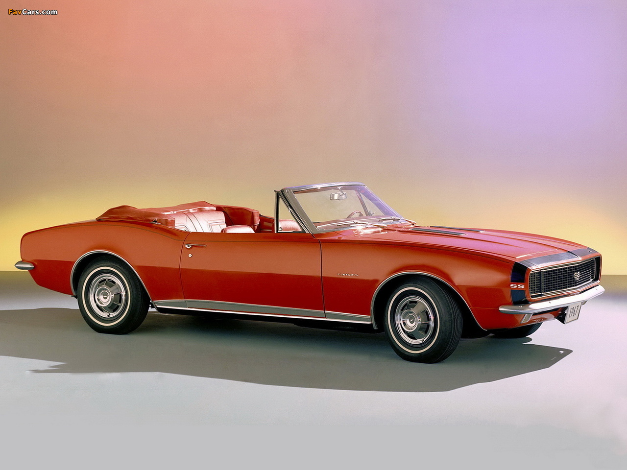 Chevrolet Camaro Rs Ss 350 Convertible 12467 1967 Images