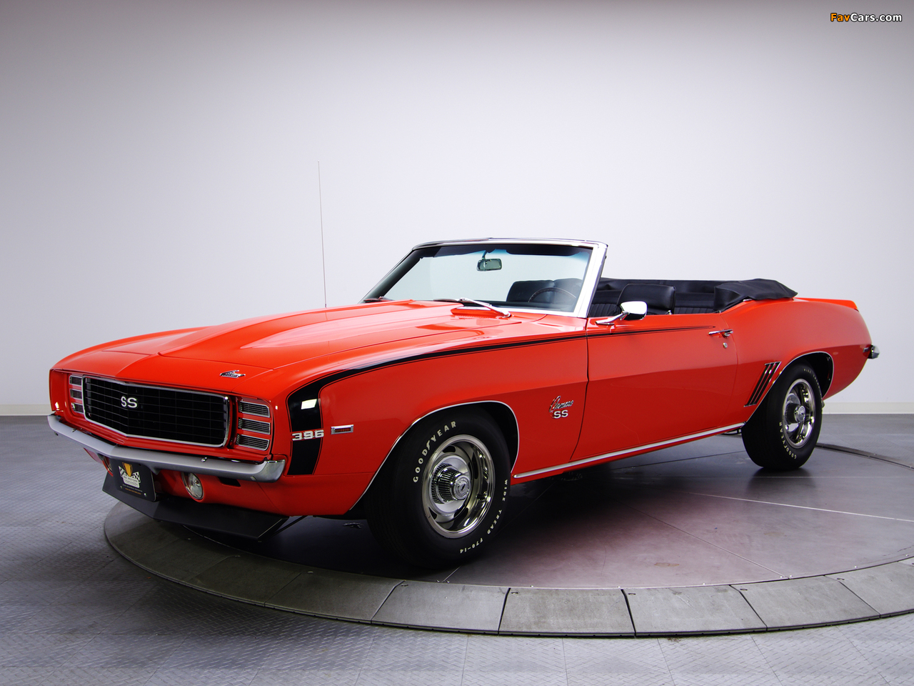 Chevrolet Camaro Rs Ss 396 Convertible 1969 Pictures