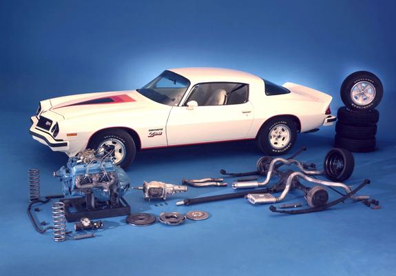 Images of Chevrolet Camaro Z28 1974–77