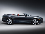 Images of Chevrolet Camaro RS Convertible 2011–13