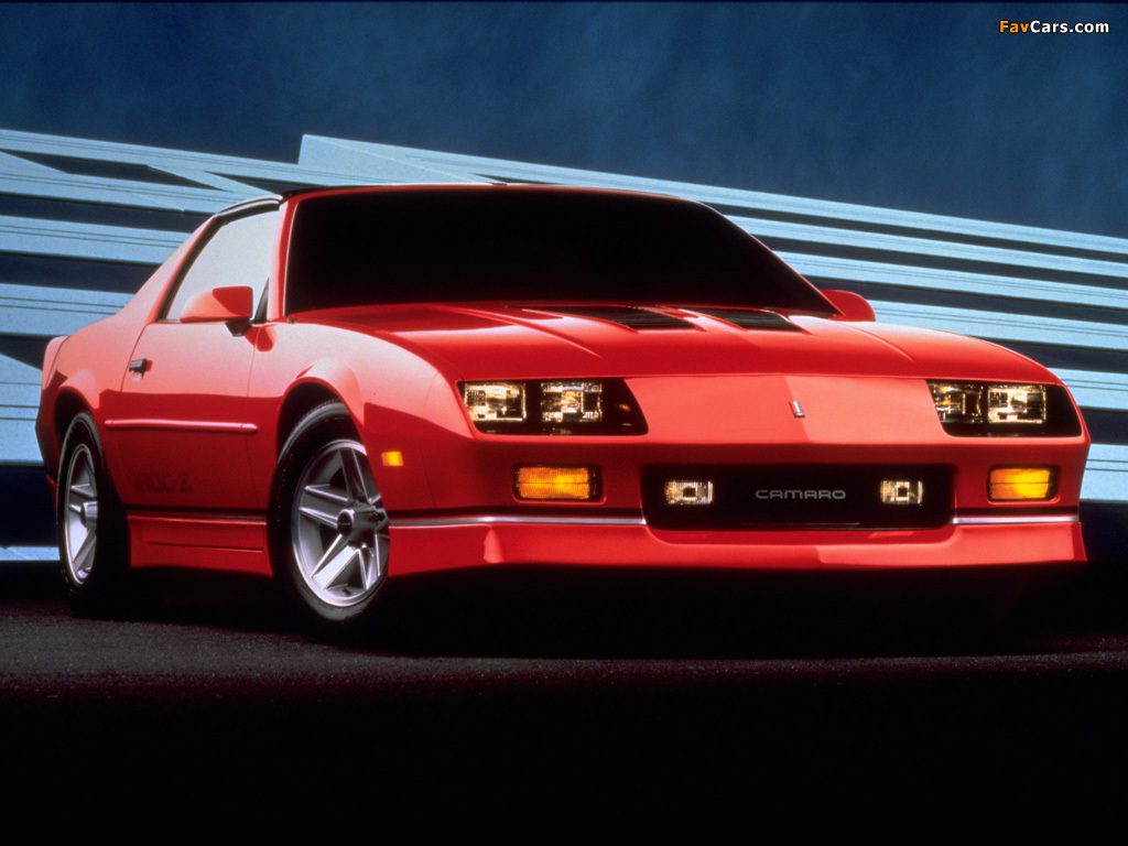 Photos Of Chevrolet Camaro Z28 Iroc Z T Top 1985 90 1024x768