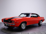 Pictures of Chevrolet Camaro Z/28 RS 1969