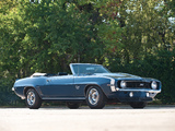 Pictures of Chevrolet Camaro SS 396 Convertible 1969