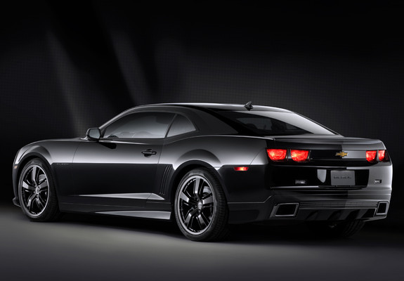 Pictures of Chevrolet Camaro Black Concept 2008