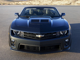 Pictures of Chevrolet Camaro ZL1 Convertible 2012–13