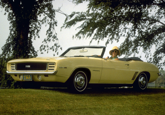 Chevrolet Camaro Rs 327 Convertible 1969 Wallpapers