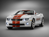 Chevrolet Camaro SS Convertible Indy 500 Pace Car 2011 wallpapers