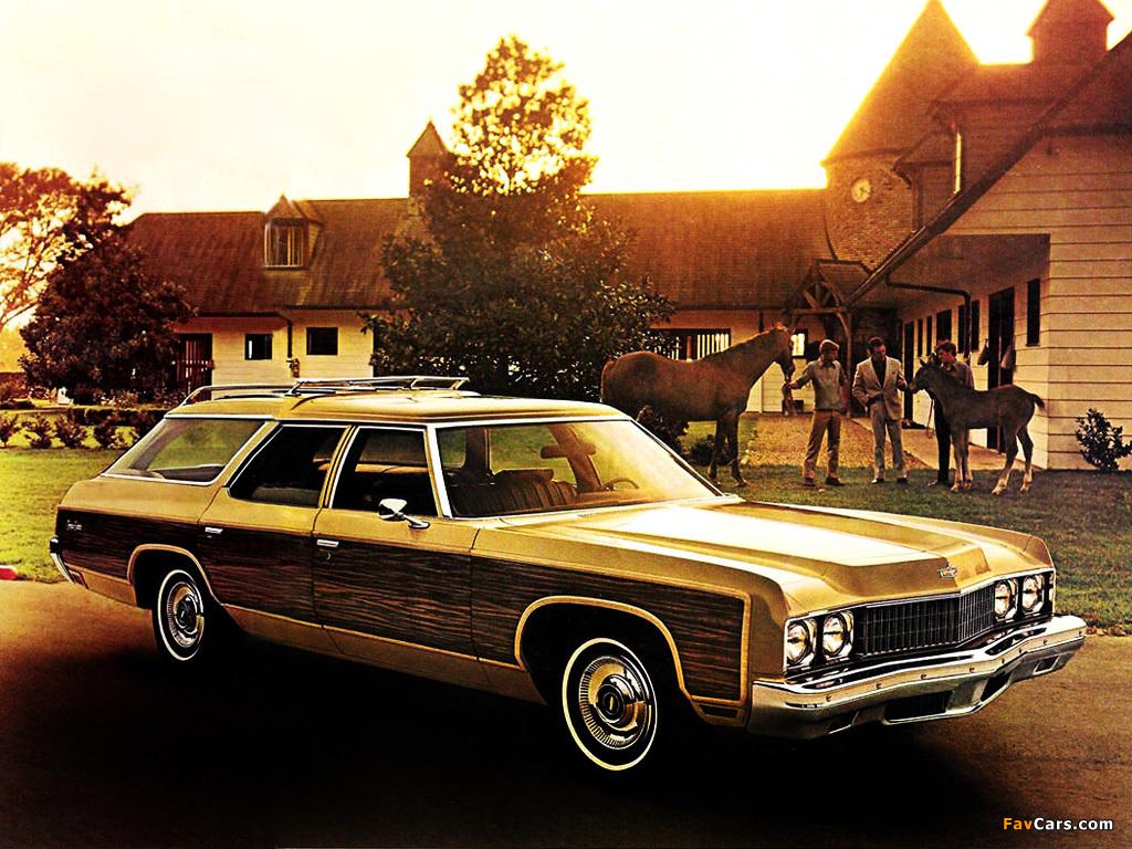 Chevrolet chevrolet station wagon : Chevrolet Caprice Station Wagon 1973 photos (1024x768)